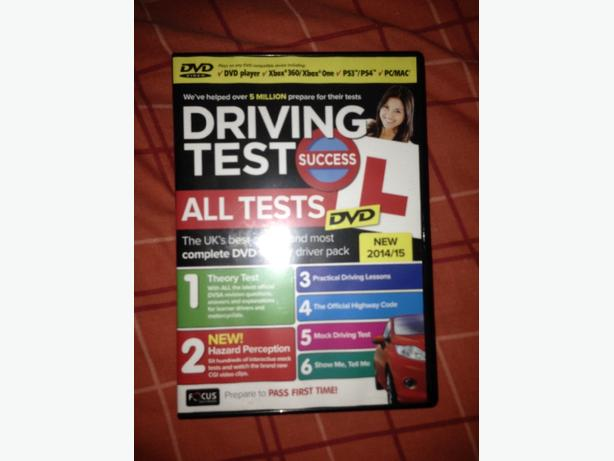Driving tests- all tests DVD
