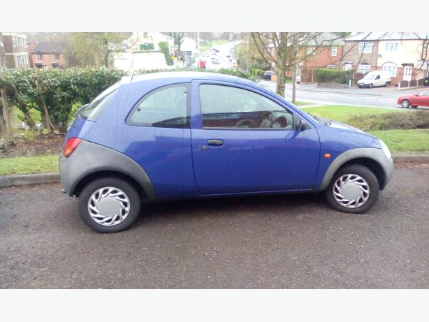 2000 ford ka genuine 55 000 miles stourbridge wolverhampton. Black Bedroom Furniture Sets. Home Design Ideas