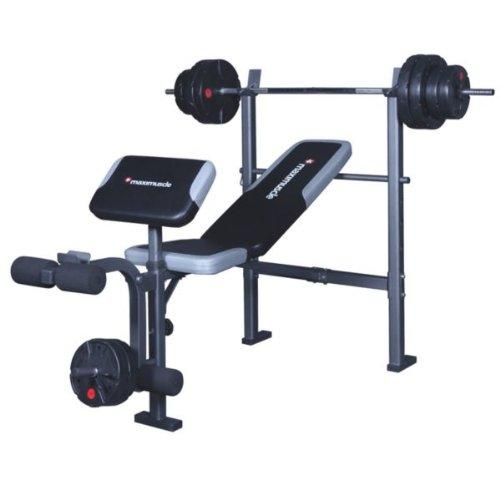 Maximuscle Weights Bench And Bar With 35 Kg Weights Can Deliver And Install Oldbury Wolverhampton