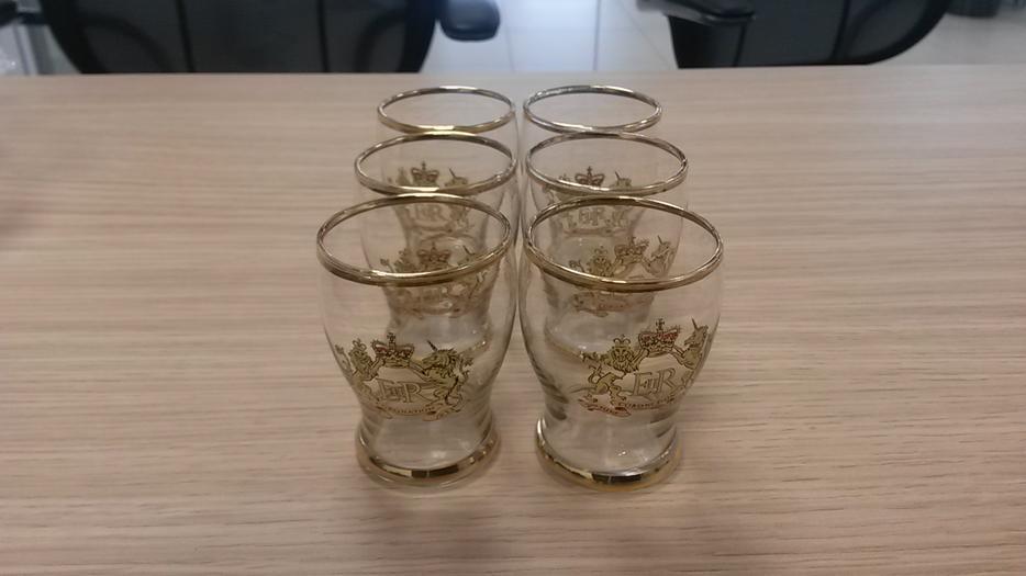 Coronation Shot Glasses