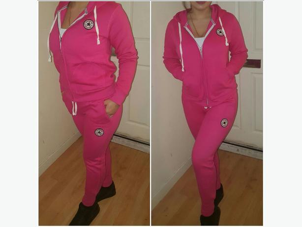 ae4db067a025 CONVERSE Women tracksuit. pink. grey. burgundy. black. s-xl sizes ...