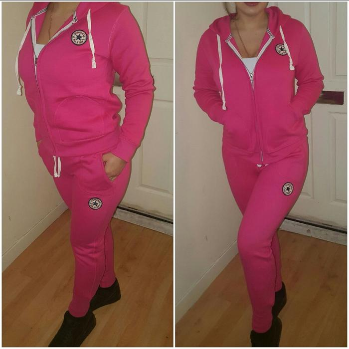 CONVERSE Women tracksuit. pink. grey. burgundy. black. s-xl sizes ... 2c92c35766