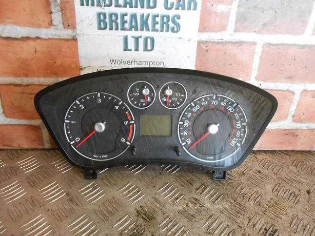 FORD FIESTA MK6 2002 - 08 1.4 CLOCKS SPEEDO INSTRUMENT CLUSTER