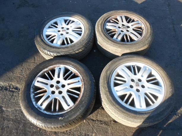 ROVER 75 1998 - 2005 ALUMINIUM ALLOY WHEELS & TIRES 215/55/ZR16