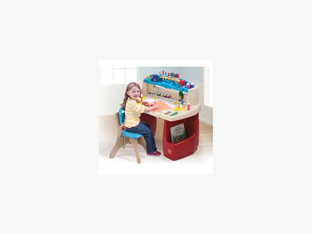 kids desk and stool