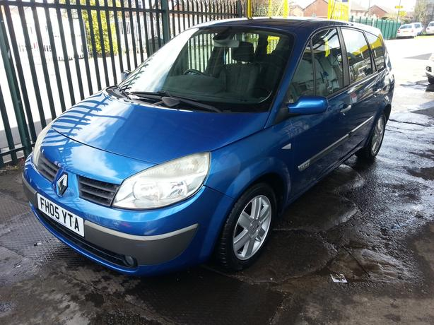renault scenic 7 seater 2005 long mot excellent condition wolverhampton dudley. Black Bedroom Furniture Sets. Home Design Ideas