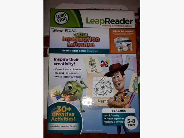 Leap Reader Activity Pack & Thomas Books & DVDs