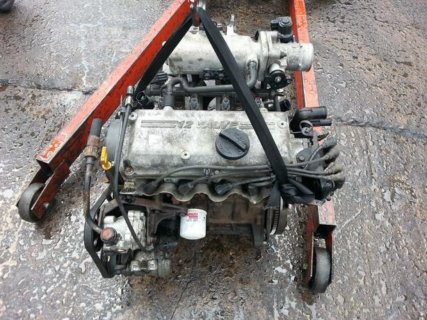 HYUNDAI GETZ 1.1 12V G4HG COMPLETE ENGINE 33K MILES KIA PICANTO GSI