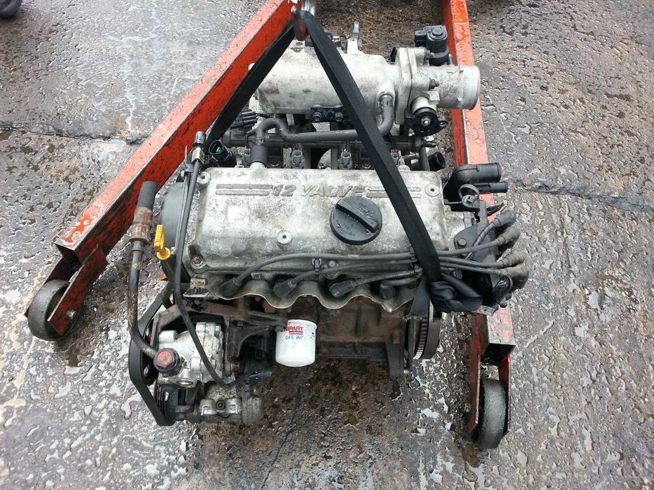 Hyundai Getz 1 1 12v G4hg Complete Engine 33k Miles Kia