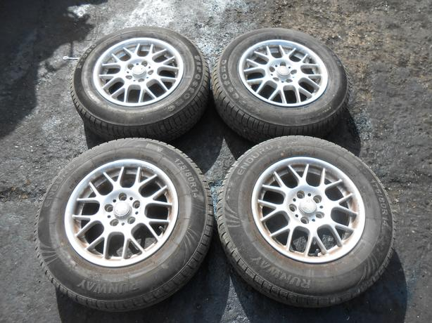"STILAUTO 5X100 ALUMINIUM ALLOY WHEELS & TIRES 14""INCH GOLF BORA IBIZA"