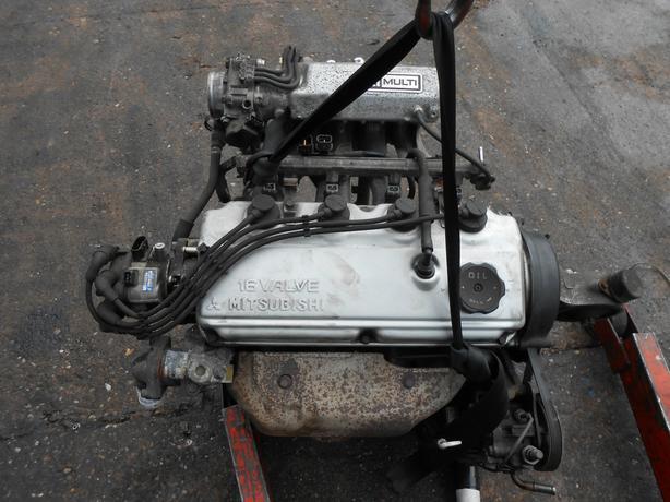 MITSUBISHI GALANT 1999 2.0 I 16V COMPLETE ENGINE PUMP ALTERNATOR INLET