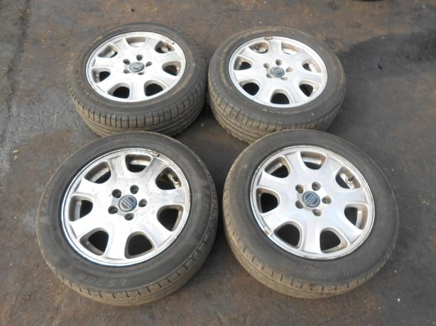 VOLVO S60 2003 SET OF X4 ALLOY WHEELS 215/55/R16 5 STUD 5X108