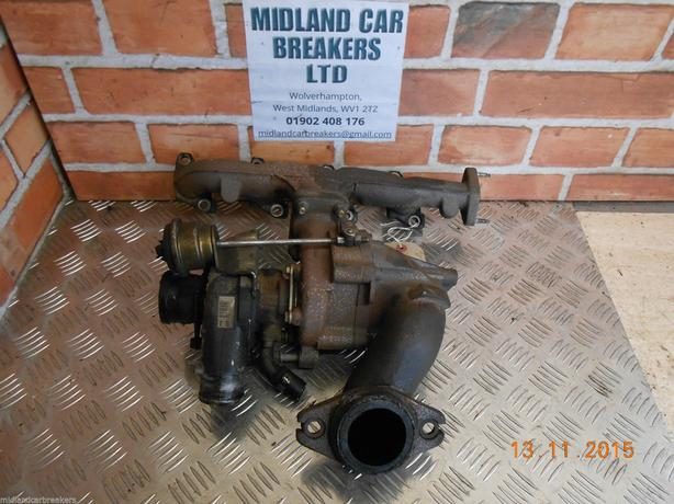 CITROEN RELAY 2006 2.2 HDI ENGINE TURBO TURBOCHARGER MANIFOLD KO3433504