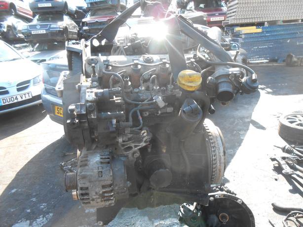 RENAULT SCENIC MK2 2004 1.9 DCI COMPLETE ENGINE PUMP INJECTORS F9Q812