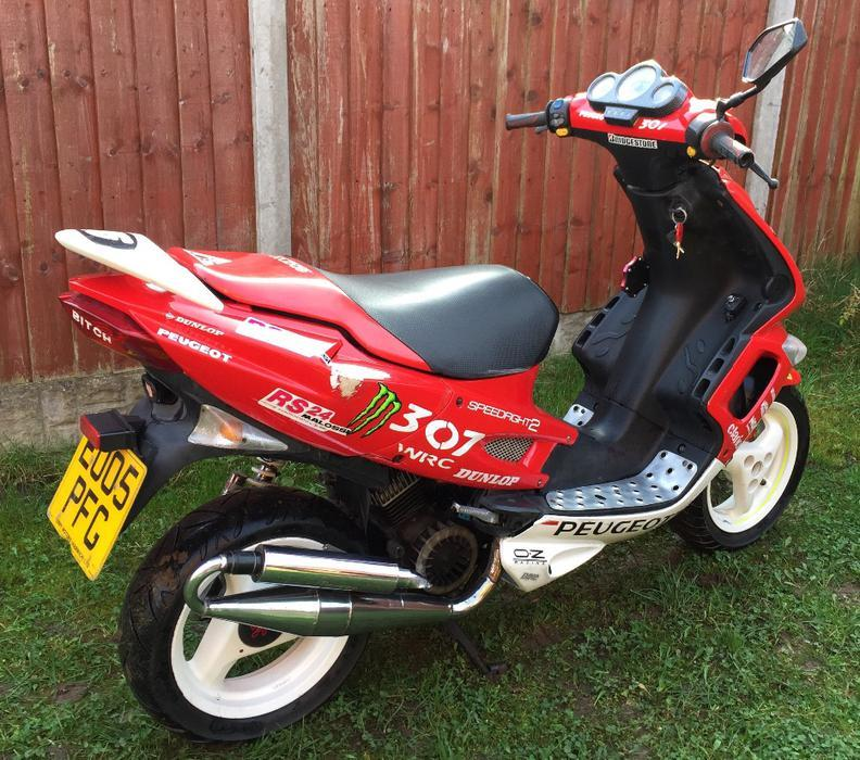 2005 peugeot speedfight 2 50cc moped scooter motorbike tipton wolverhampton. Black Bedroom Furniture Sets. Home Design Ideas