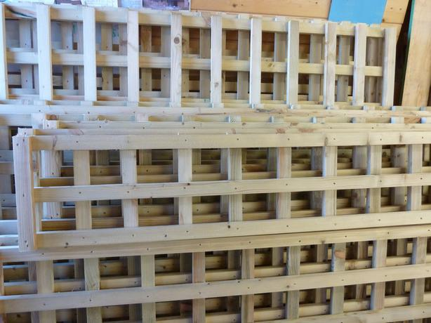 Heavy Duty Wooden Trellis (Reduced Prices On All Sizes)