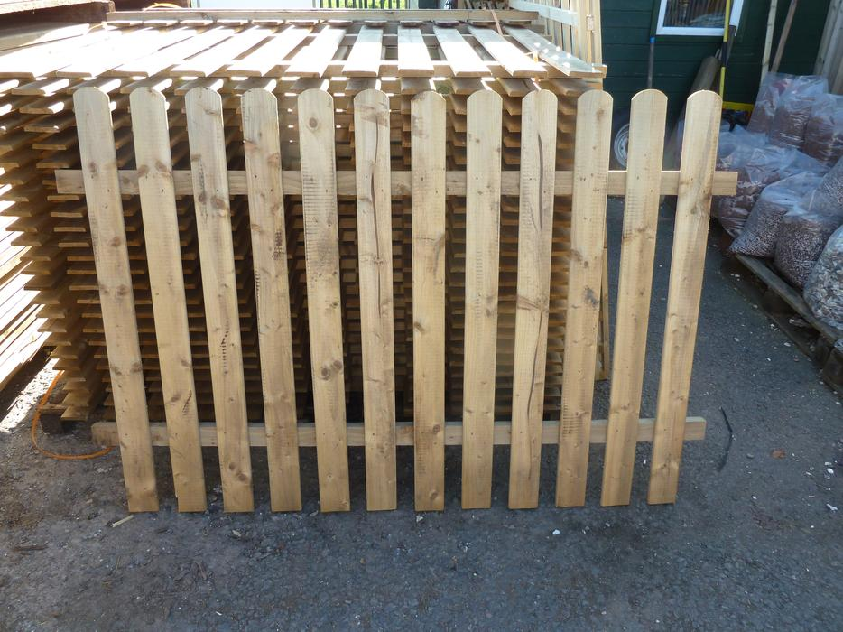 Picket Fence Panels Heavy Duty Garden Picket Fencing