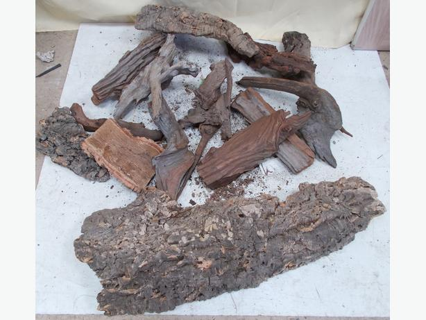 ProRep Joblot of Cork Bark  Various Sizes