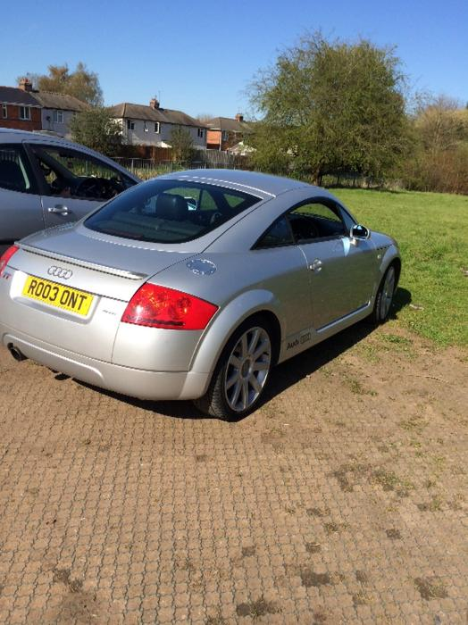 audi tt quatro 1 8 180 bhp brierley hill dudley. Black Bedroom Furniture Sets. Home Design Ideas