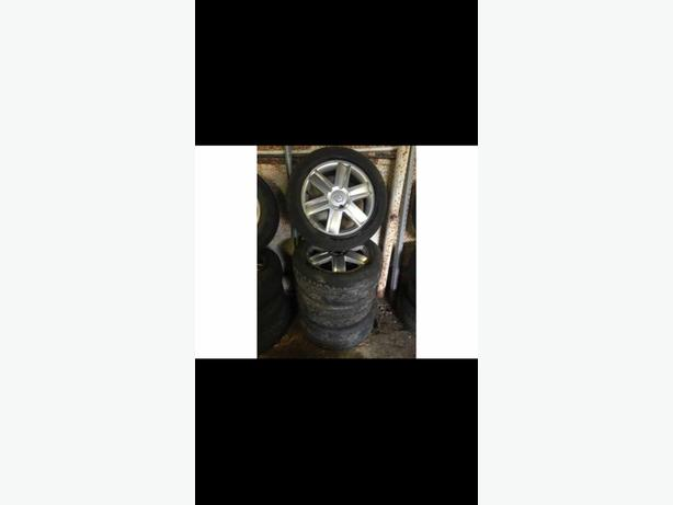 "ALLOY WHEELS 16"" Renault 4 stud 205/55/r16 X 4 £100"