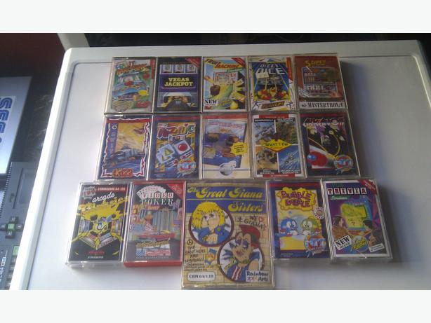 Commodore 64 games inc The great giana sisters not xbox 360 ps3