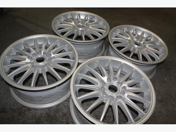 "set of used alloy wheels 15"" 5x100 5x112 fit VW AUDI SEAT SKODA"