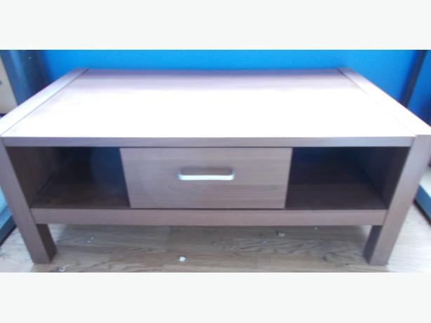 Brown Coffee Table with 2 Draws