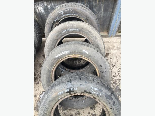 TYRES PART WORN 185/65/R14 7MM 6MM 5MM 4MM £7