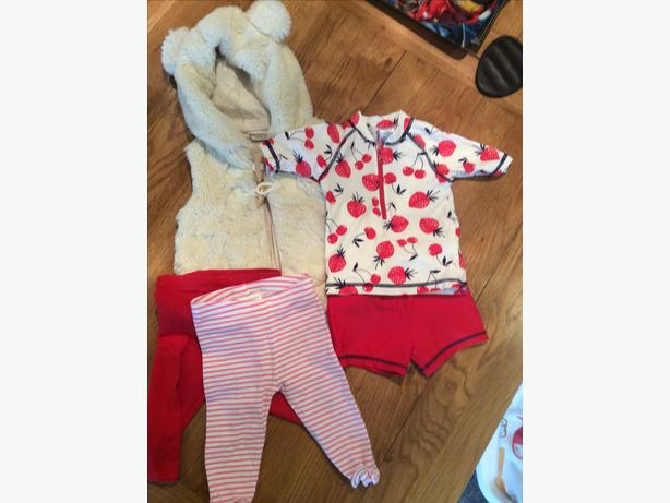 3-6 months baby clothing bundle
