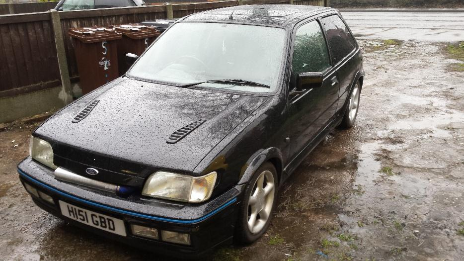 ford fiesta rs turbo 1991 h reg over 6k in receipts. Black Bedroom Furniture Sets. Home Design Ideas