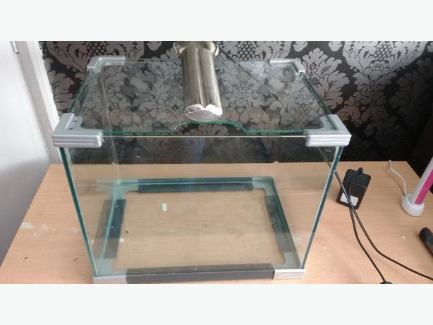 FREE: fishtank and light