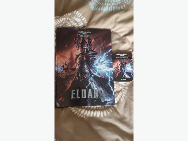 Eldar 6th edition warhammer 40k codex and powers cards.