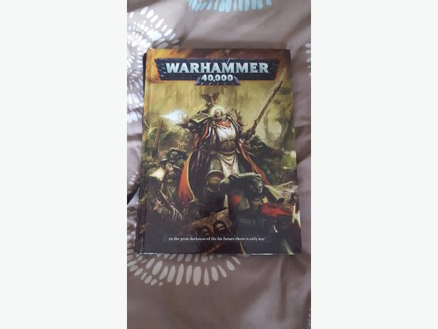 Warhammer 40k 6th edition rulebook MINT