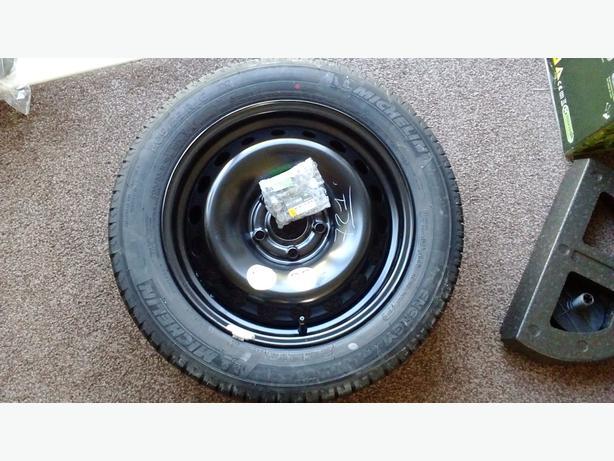 Megane spare wheel