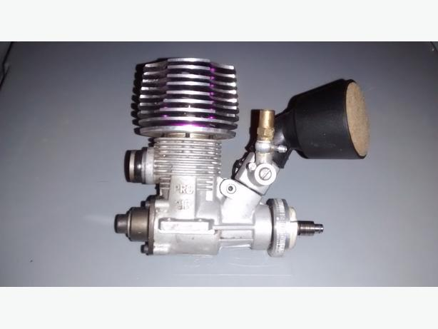 THUNDER TIGER 21R PRO ENGINE WITH AIR FILTER & ROTO START