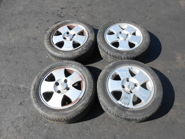 Ford Ka Fiesta  Stud Aluminium Alloy Wheels Tires   R