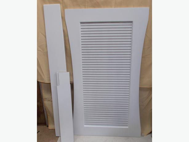 Adams Traditional White Radiator Cover
