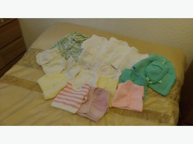 hand knitted girls clothes
