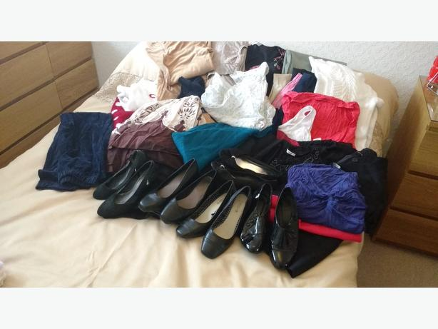 womans clothing and footwear