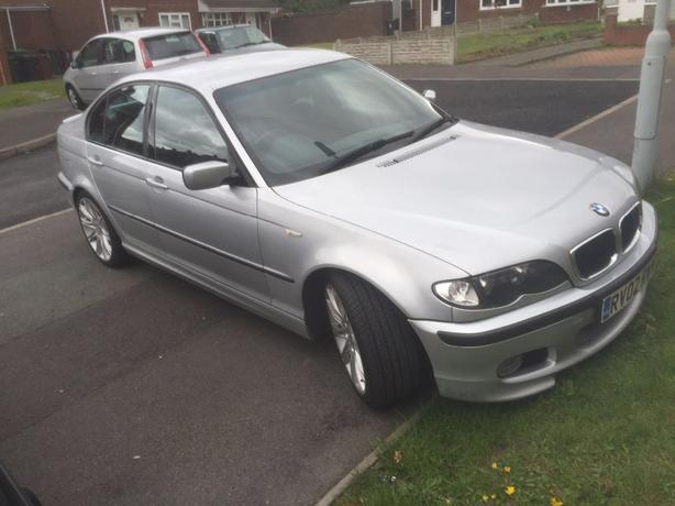 bmw 320d diesel m sport 2002 02 reg 132000 miles 4 door. Black Bedroom Furniture Sets. Home Design Ideas