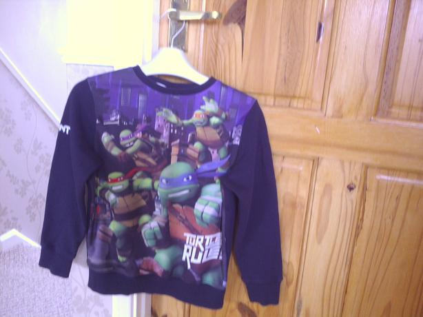 Next Boys Turtles top