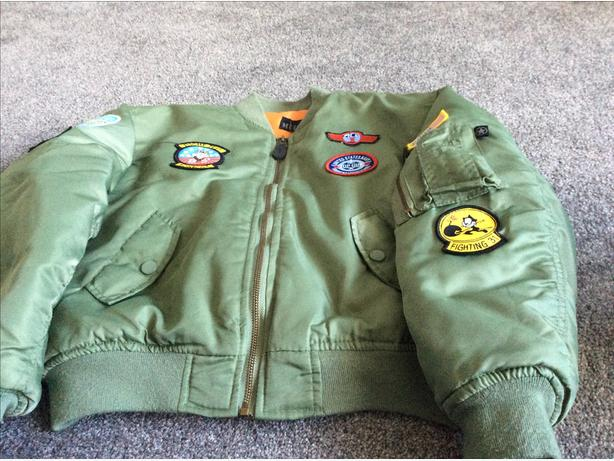 Kids pilot jacket