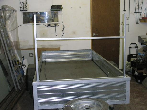 Made to order Trailer Ladder Racks, Hitch Locks & Repairs