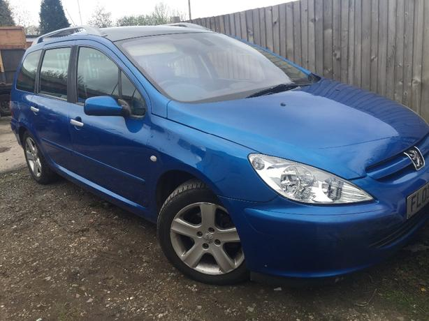 PEUGEOT 307 SW SE HDI 1997cc 2.0 DIESEL 7 SEATER BREAKING PARTS SPARES