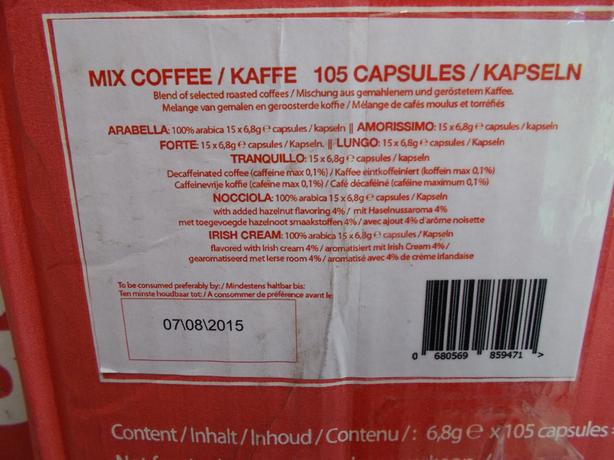 Joblot of uSario Mixed coffee x9 boxes