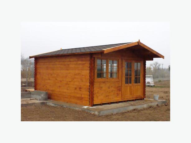 £2194 Brand New - 4x5 m log cabin
