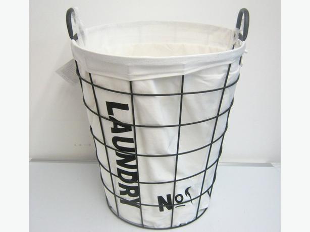 3x Laundry basket D40xH46cm