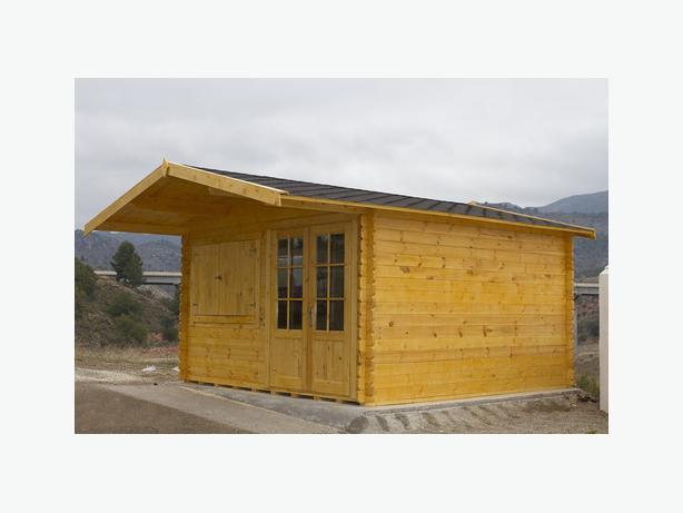 PALLACE 4X4 M log cabin