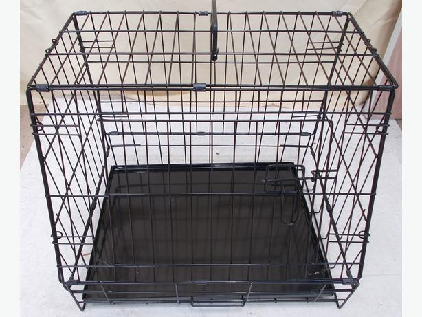 """Ellie Bo 24"""" Black Slanted Standard Cage"""