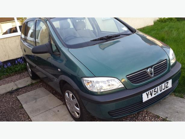 vauxhall zafira 2001 manual